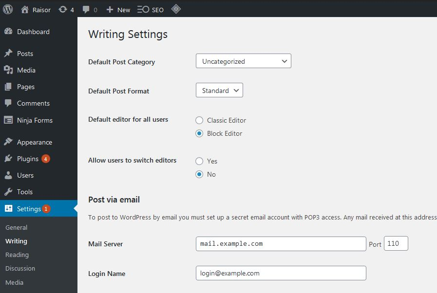 How To Switch To The Classic Editor In Wordpress